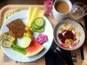 Frukostbuffé och framtidsplaner
