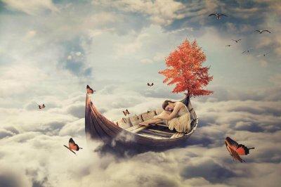 Dom sista drömmarna sträcker sig mot himlen