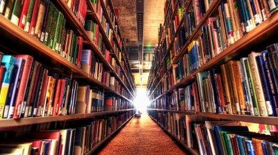 Slagsmål på biblioteket...