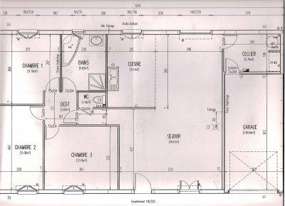 plan maison plain pied phenix