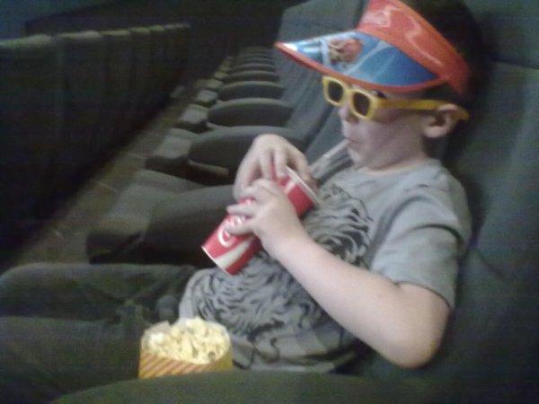 lol le vacancier au cinema trop mimi