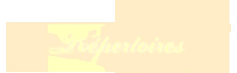 Répertoires