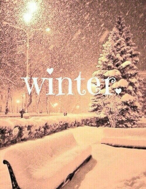 Winter is back!