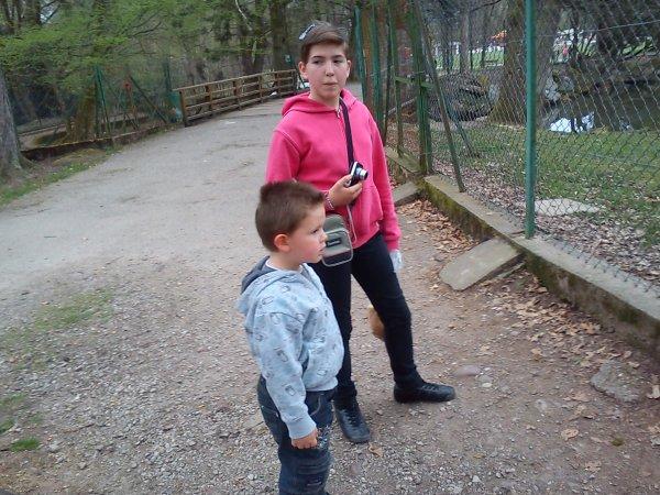 Promenade au parc du Chateau... je vous aimes