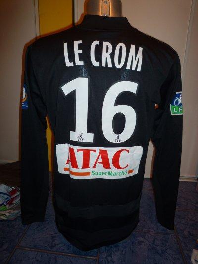 Maillot LENS porté par Ronan LE CROM