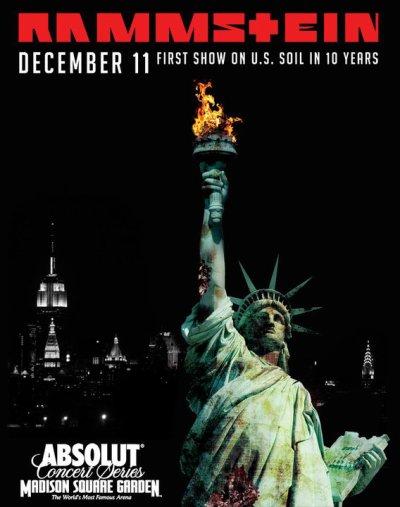 Rammstein au Madison Square Garden !!!!
