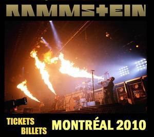 Rammstein au Centre Bell de Montréal le 9 décembre 2010.
