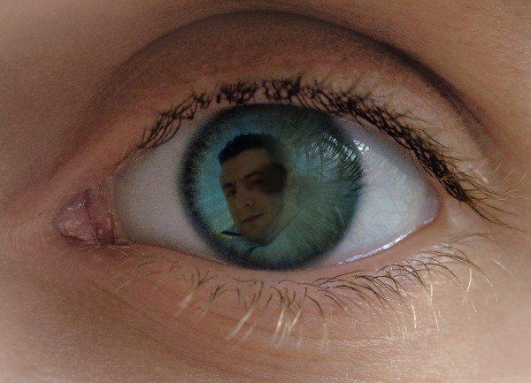 soy dentro en ojo