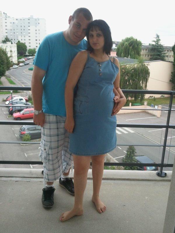 Mon 8 éme mois de grossese