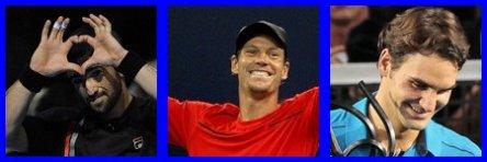 Bilan de l'année 2012: tennis.