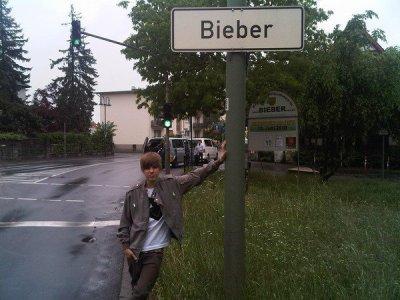 Justin Bieber - rue Bieber