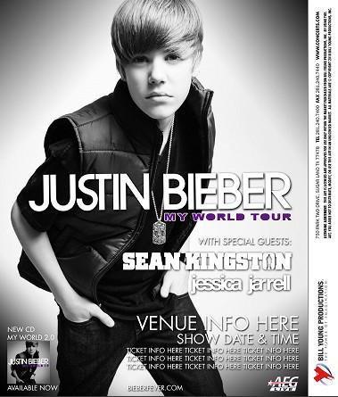 Justin Bieber - photo My World Tour