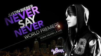 Justin Bieber - Film Never Say Never