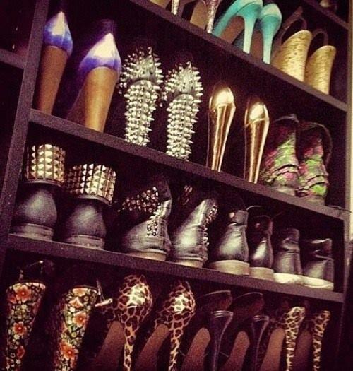 Le nom de chaussure révèle le nombre d'amant que j'ai possédé.