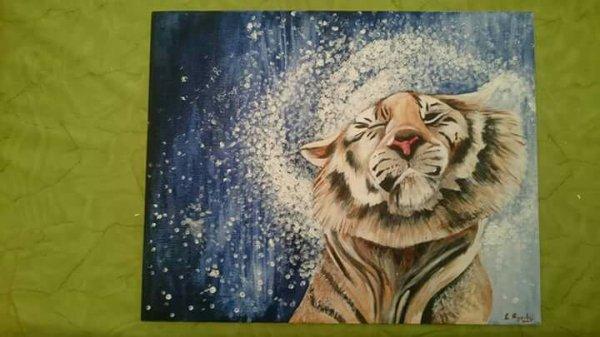 1.Tableau tigre