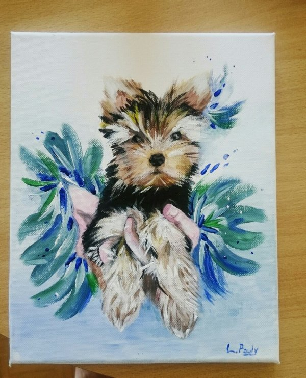 3. The dog