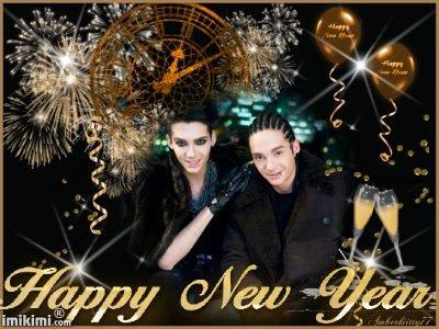 Bonne Année !  Frohes Neues Jahr !