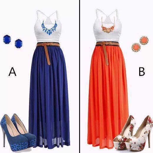 bleu ou rouge
