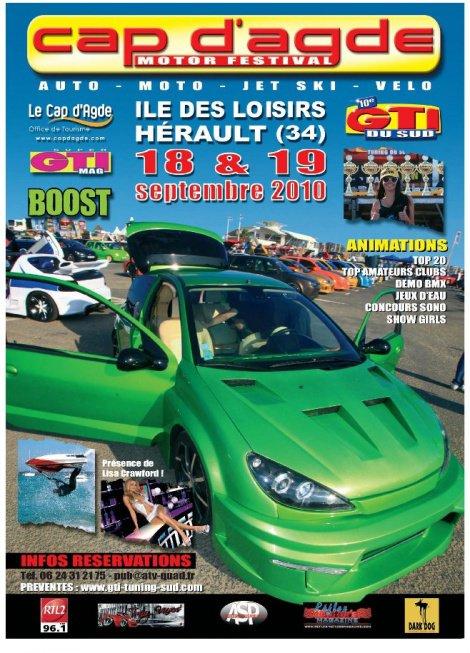 1er Cap d'Agde Motor Festival