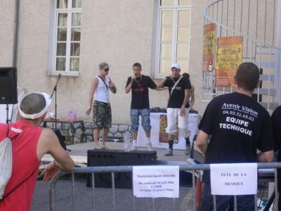 21 juin a Sisteron première scène!!