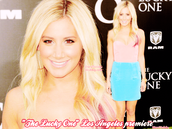 """The Lucky One"" Los Angeles premiere - 16 Avril"