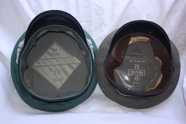 70. Casquettes DDR - DDR caps