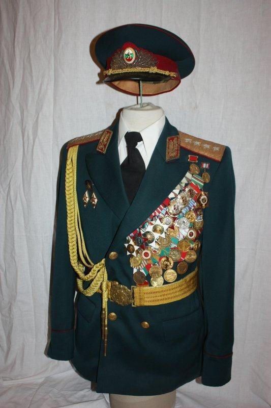 84. Bulgarie général 4 étoiles - Bulgarie 4-star general.
