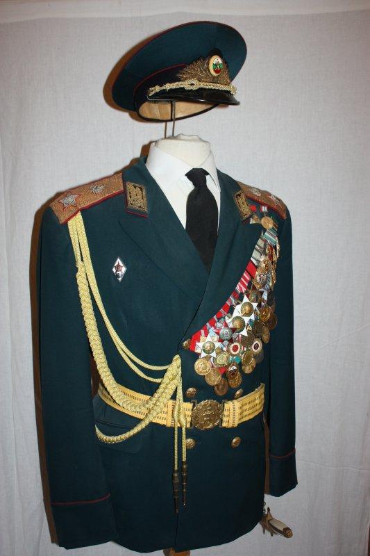 86. Bulgarie général d'armée - Bulgaria army general.