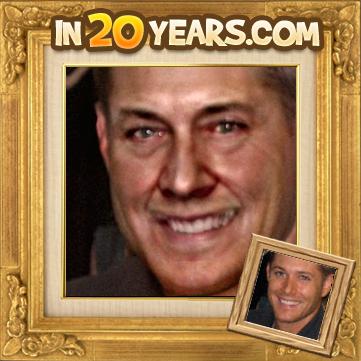 veillissement de jensen de 20 ans de plus je trouve qu'il ressemble a J.R Ewing de dallas Non?????????????