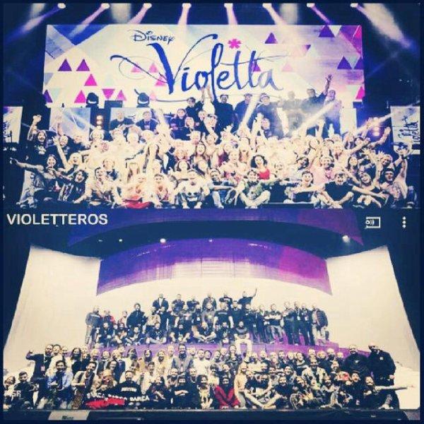 Violetta En Vivo -> Violetta Live ❤️❤️