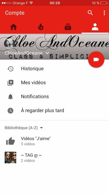 Nouvelle chaîne YouTube ->