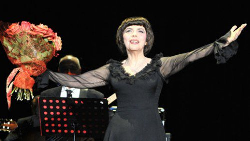 Mireille Mathieu in Tjumen