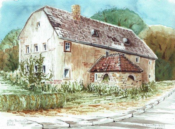 Altes Bauernhaus mit Backofen / Spruch der Woche