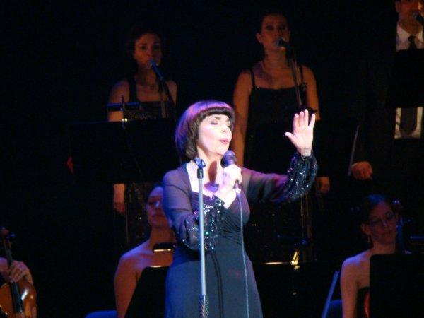 Mireille Mathieu in Russland