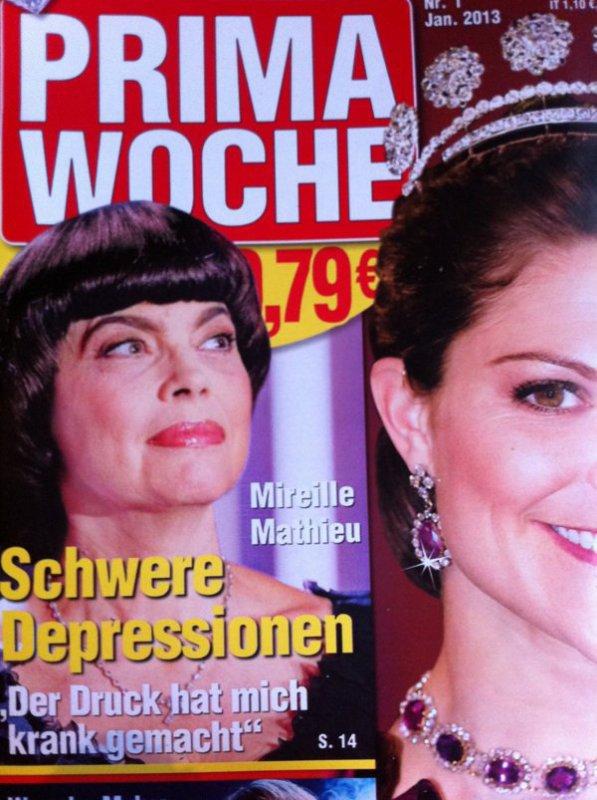 Zeitschriften mit Mireille Mathieu