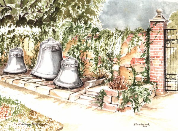 Glocken in Nerchau / Spruch