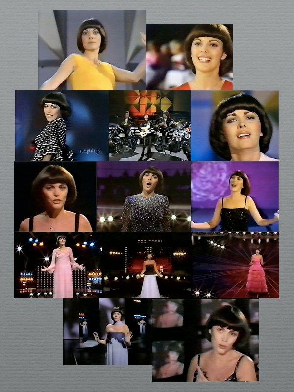"""Wiederholungen im ZDF am 09.02.2014   Mireille Mathieu  """" Starparade """""""