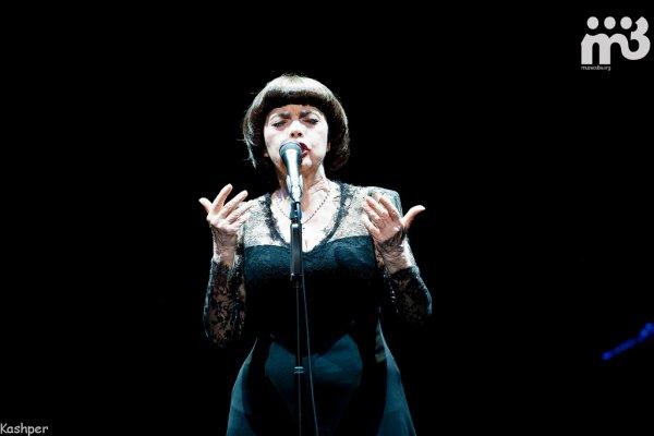 Konzert von Mireille Mathieu in Sankt Petersburg  04.03.2014
