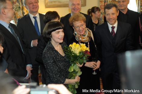Mireille Mathieu in Riga