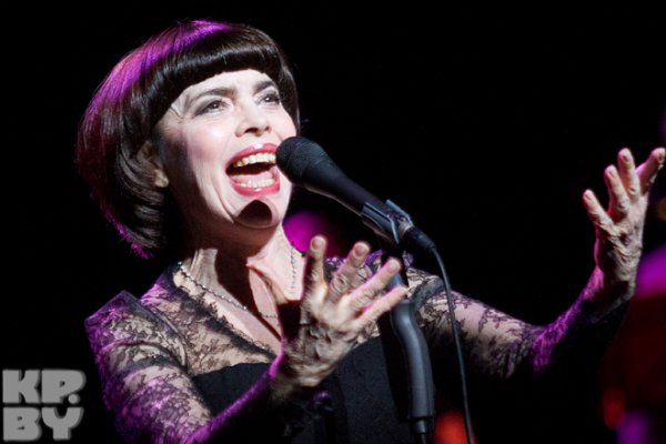 Mireille Mathieu in Minsk   am 10.03.2014