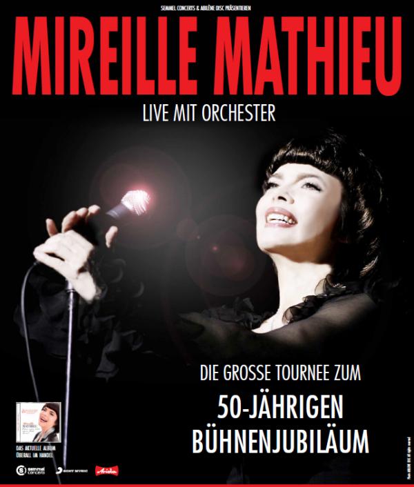 Offiziell   Mireille kommt nach Deutschland und Österreich März 2015