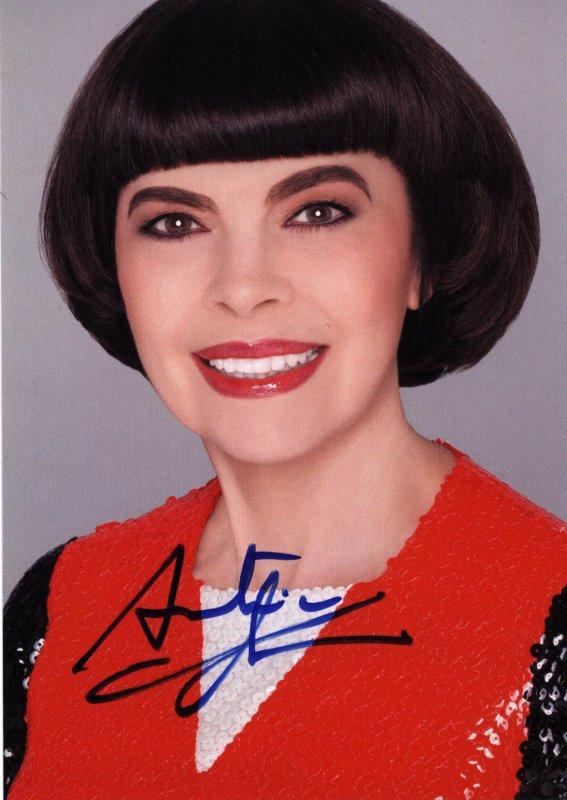 Autogrammkarte Mireille