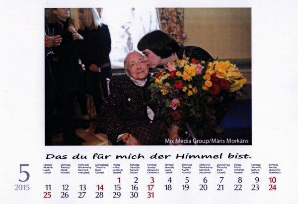 Kalender Mireille Mathieu   Mai 2015