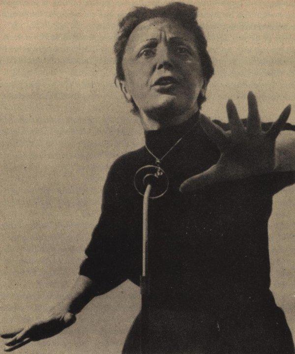 Vor 100 Jahren wurde Edith Piaf geboren