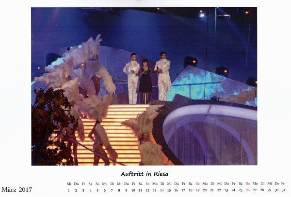 Kalender Mireille März 2017
