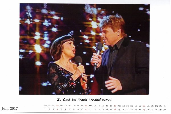Kalender Juni 2017