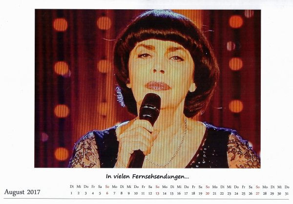 Kalender Mireille   August 201