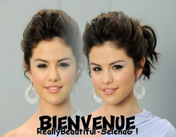 Really beautiful Selena G // Te souhaite la bienvenue !