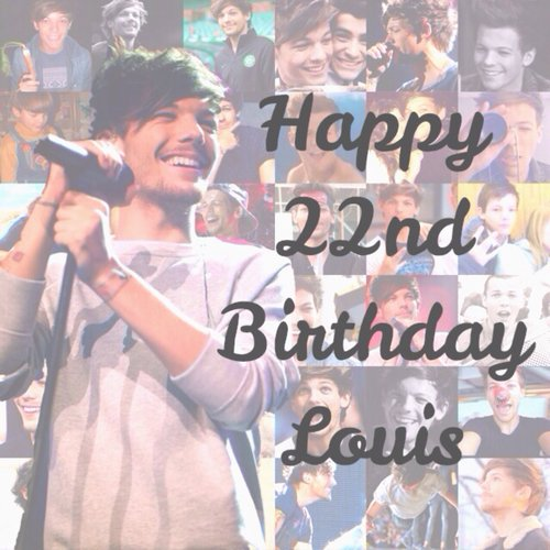 HAPPY BIRTHDAY LOUIS ‏♥♥