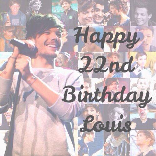 HAPPY BIRTHDAY LOUIS ♥♥